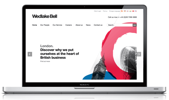 New website and print material for Wedlake Bell by Bathbased design and marketing agency Mar-Com